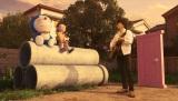 """映画『STAND BY ME ドラえもん』の主題歌を秦 基博が書き下ろし。こんな""""共演""""シーンは3DCGならでは!(C)2014「STAND BY ME ドラえもん」製作委員会"""