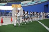 SKE48メンバー入場=SKE48・HKT48がナゴヤドームで48グループ初の合同握手会開催