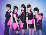 6月末で全員がグループから卒業することを発表したbump.y(左から)高月彩良、宮武美桜、桜庭ななみ、松山メアリ、宮武祭
