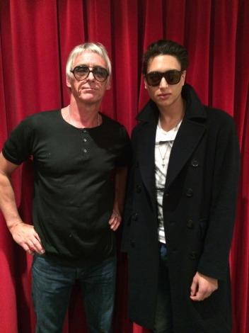 ポール・ウェラーの息子ナット・ウェラーが6月に日本デビュー(2014年4月16日、英ロンドンで撮影)