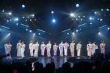 艶やかな浴衣姿も披露したHKT48=新チームH「青春ガールズ」初日公演の模様 (C)AKS