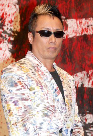 競輪レース『KEIRINグランプリ2014岸和田』記者会見に出席した長渕剛 (C)ORICON NewS inc.