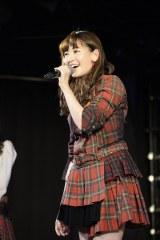 1年半ぶりにチームAに復帰しトークも冴え渡ったAKB48小嶋陽菜 (C)AKS=AKB48新チームA「恋愛禁止条例」初日公演 (C)AKS