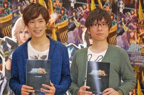 公開アフレコに参加した(左から)小野賢章、赤羽根健治