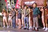 イベントに出席した(左から)矢口史靖監督、長澤まさみ、染谷将太、マキタスポーツ (C)ORICON NewS inc.
