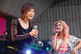 音楽イベント『NAONのYAON 2014』に出演した(左から)ミッツ・マングローブ、寺田恵子 (C)ORICON NewS inc.