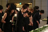 宇津井健さん「お別れの会」の模様