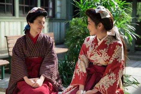 醍醐亜矢子(高梨臨)のヘアスタイルは「マーガレット」と呼ぶそうです(C)NHK