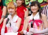(左から)Doll☆Elementsの小島瑠那、外崎梨花/アイドルイベント『東京アイドルフェスティバル 2014』記者発表会 (C)ORICON NewS inc.