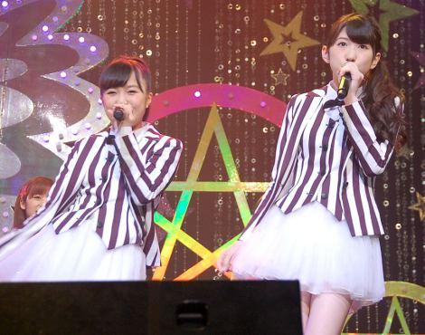 (左から)Dream5の重本ことり、日々美思/アイドルイベント『東京アイドルフェスティバル 2014』記者発表会 (C)ORICON NewS inc.