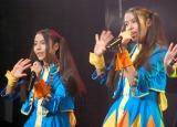 (左から)リンダ3世のSayuri、Shiori/アイドルイベント『東京アイドルフェスティバル 2014』記者発表会 (C)ORICON NewS inc.