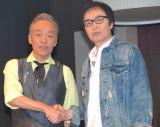 初共演を果たした(左から)谷村新司、吉田拓郎 (C)ORICON NewS inc.