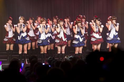 NMB48の新チームM『RESET』公演初日より(2日=大阪・難波 NMB48劇場)(C)NMB48