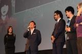 『第16回ウディネ・ファーイースト映画祭』授賞式に出席した映画『テルマエ・ロマエII』の武内英樹監督(左から2人目)