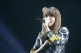 ソロ曲「泣きながら微笑んで」など5曲を熱唱した大島優子(C)AKS