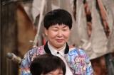 真剣な表情で収録に臨む森三中・大島美幸 (C)日本テレビ