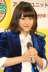 元HKT48でもある九州発アイドルユニット・GALETTe*(ガレット)の古森結衣=『目指せ!トップアイドル!あるある甲子園』開催発表会見 (C)ORICON NewS inc.