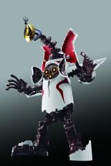 内蔵されている兵器が現れる「超兵器発動形態」=『超合金 太陽の塔のロボ』 (C)TARO OKAMOTO/(C)BANDAI