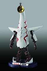 手や足を展開した「ロボ形態」=『超合金 太陽の塔のロボ』 (C)TARO OKAMOTO/(C)BANDAI