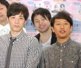 『日本女子博覧会 −JAPAN GIRLS EXPO 2014−』概要発表会見に出席したライセンス(左から)藤原一裕、井本貴史 (C)ORICON NewS inc.