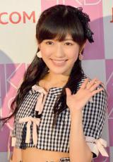 『第6回選抜総選挙』に向けた記者会見に出席したAKB48・渡辺麻友 (C)ORICON NewS inc.