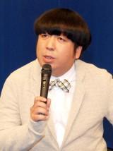 NHK・BS1『ザ・データマン〜スポーツの真実は数字にあり〜』取材会に出席したバナナマン・日村勇紀 (C)ORICON NewS inc.