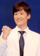 NHK・BS1『ザ・データマン〜スポーツの真実は数字にあり〜』取材会に出席した安岡直 (C)ORICON NewS inc.