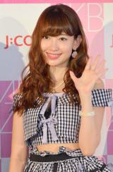 『第6回選抜総選挙』に向けた記者会見に出席したAKB48・小嶋陽菜 (C)ORICON NewS inc.