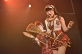 HKT48 劇場デビューしたSKE48チームE兼任の木本花音(8日=HKT48劇場)(C)AKS