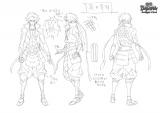 新作テレビアニメ『戦国BASARA Judge End』キャラクター設定画・真田幸村(全身)(C)CAPCOM/BASARA JE