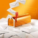 「ヴーヴ・クリコ」の限定ボックス『ヴーヴ・クリコ イエローラベル メールボックス』(税込7830円)
