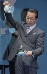 水谷豊=劇場版『相棒-劇場版III-巨大密室!特命係 絶海の孤島へ』完成披露上映会舞台あいさつ
