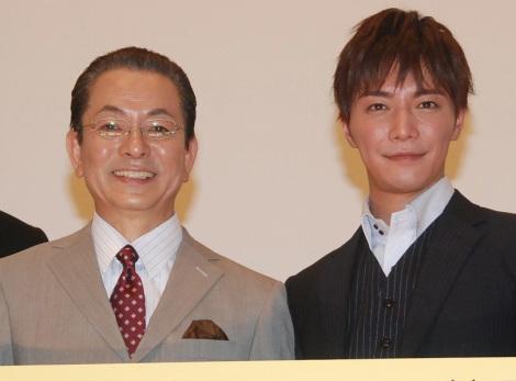 親バカぶりを暴露された(左から)水谷豊と成宮寛貴 (C)ORICON NewS inc.