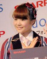 SHARP『AQUOSスマートフォン』キャンペーン発表会に出席したHKT48・穴井千尋 (C)ORICON NewS inc.