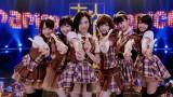 (左から)川栄李奈、渡辺麻友、塚本まり子、島崎遥香、小嶋真子、大和田南那 (C)AKS