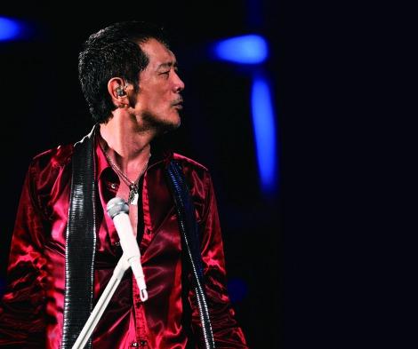 最年長64歳8ヶ月でDVD首位を獲得した矢沢永吉