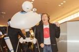 ロボットを従えて来日したポール・マッカートニー (C)森リョータ