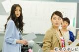 『ファースト・クラス』第5話では川島レミ絵(菜々緒・左)と木村白雪(田畑智子・右)の心の声が副音声で楽しめます