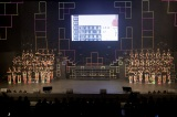 NMB48は「リクエストアワー」の会場で中継を見守った(21日=大阪・オリックス劇場)(C)NMB48