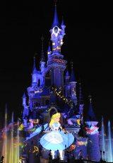 画像はディズニーランド・パリのナイトタイムショー『Disney Dreams!』のもの(C)Disney