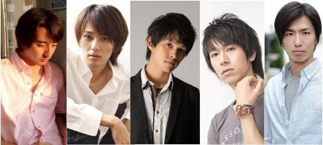 同世代俳優5人で結成したサーティワンアイスクリーマーズ (左から)黒田勇樹、椿隆之、杉浦タカオ、ウチクリ内倉、斎藤このむ