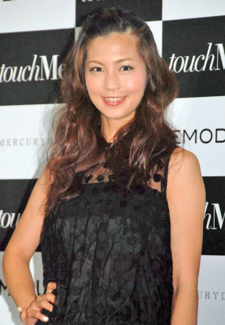 『2014 AUTUMN/WINTER Collection touchME』に来場した安田美沙子 (C)ORICON NewS inc.