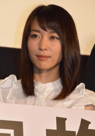 映画『ぼくたちの家族』初日舞台あいさつに出席した黒川芽以 (C)ORICON NewS inc.