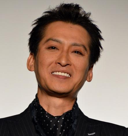 映画『鷲と鷹』の初日舞台あいさつを行った大沢樹生監督 (C)ORICON NewS inc.