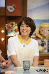 5月26日放送、ABC『ごきげんブランニュ』に2代目マドンナの赤江珠緒(右)がゲスト出演