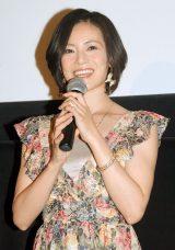 映画『美しい絵の崩壊』トークショーに登場した大人AKB48・塚本まり子 (C)ORICON NewS inc.