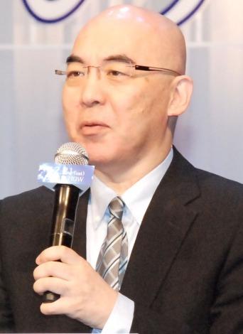 原映画『永遠の0』完成報告会に出席した作者の百田尚樹氏 (C)ORICON NewS inc.