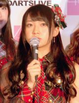 『DARTSLIVE×AKB48』プロジェクト発表会に出席した木崎ゆりあ (C)ORICON NewS inc.