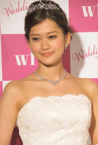 ウエディングドレスで登場した平野由実=女性誌『with』ウエディングイベント (C)ORICON NewS inc.