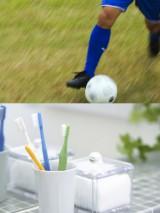 """サッカーと歯磨きには""""すき間対策""""という共通点が!"""